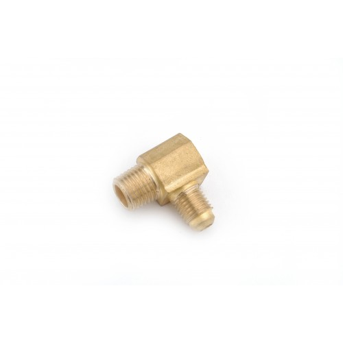 1/4 OD X 1/8 MIP Brass Flare X Male IP Elbows