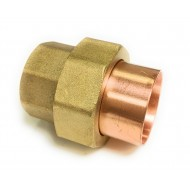 1  X 1 (1-1/8 OD X 1-1/8 OD) Copper Union - Solder Ends