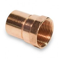 2 X 2 NPT (2-1/8 OD X 2 NPT)Copper Female Adapter (Copper  X NPT)