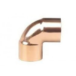 6mm Metric Copper 90 Degree Elbow ( Pipe/Tubing OD )