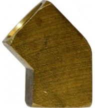 Brass 45 Female Elbow