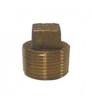 Cast Bronze Threaded Square Head Plug