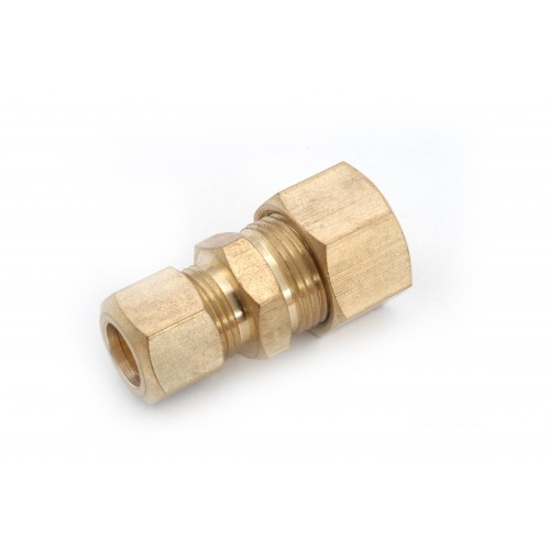 3/8 OD X 1/4 OD Brass Compression Reducing Unions