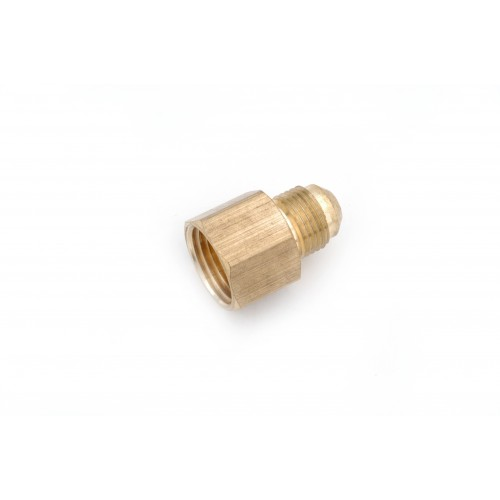 1/4 OD X 1/8 FIP Brass Flare X Female IP Connector