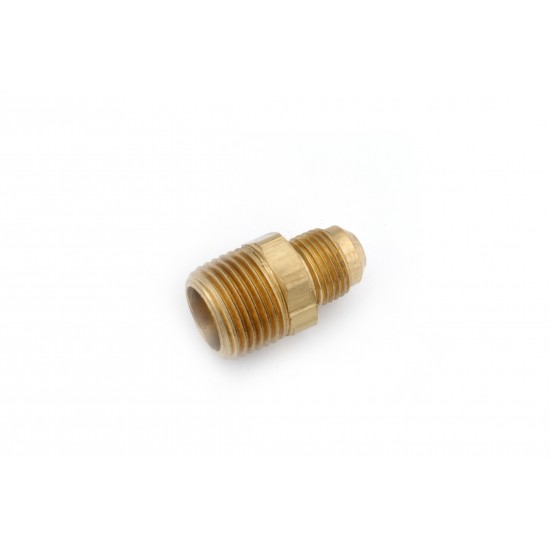 5/16 OD X 1/8 MIP Brass Flare X Male IP Connector