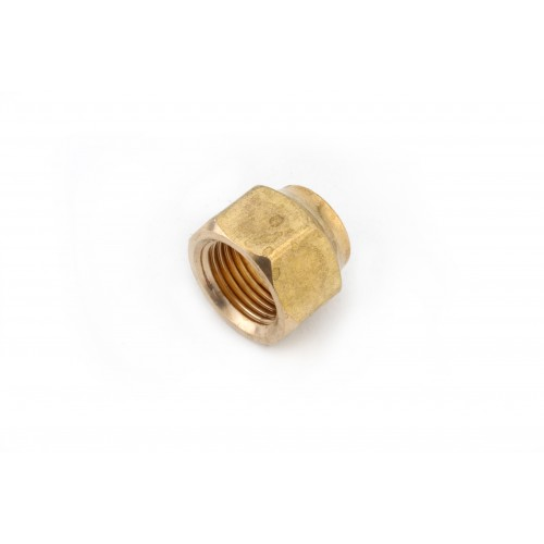 1/4 OD Brass Forged Flare Nuts