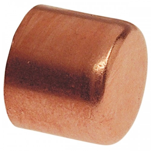 8mm Metric Copper Cap ( Pipe/Tubing OD )