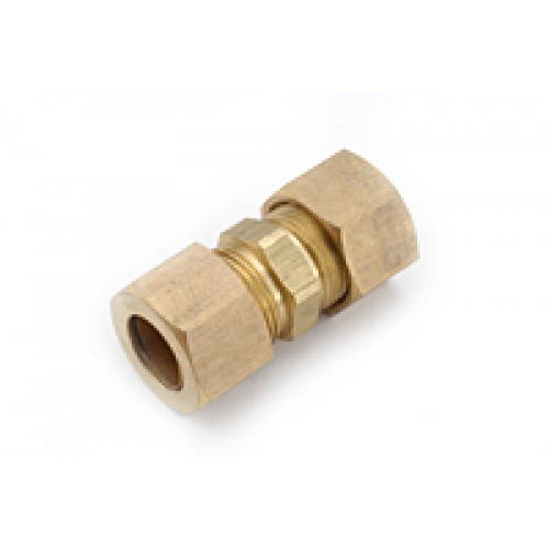 8mm OD Metric Brass Compression Union