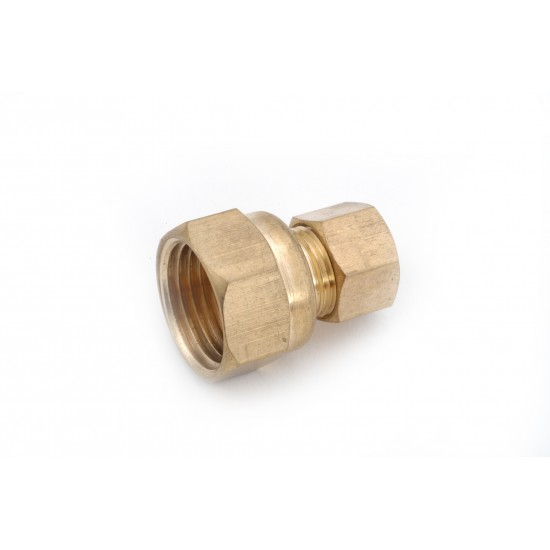 6mm X 1/4 FIP Metric Brass Compression x Female IP Connectors
