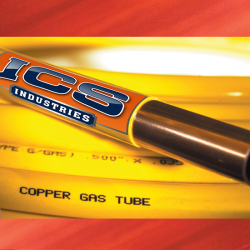 3/8  OD X 50  Yellow Polyethylene Coated Copper Tubing