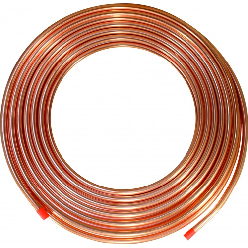 6MM Metric Copper Tubing ( 6MM OD X 0.8 MM X 30M)
