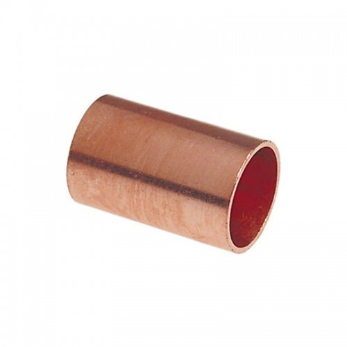 1/8  Copper Coupling (1/4  OD)with No Stop