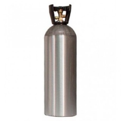 CO2 ALUMINUM CYLINDER WITH CARRY HANDLE 20 LB