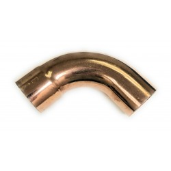 1/4  Copper 90 Degree Long Turn Street Elbow (1/4  Fitting X 3/8  OD Copper)