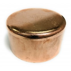 1/8  Copper Cap (1/4  OD)