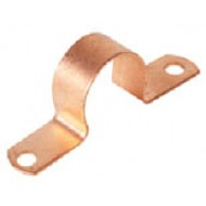 1/2 ID X 5/8 OD - Copper Plated Tubing Clamps