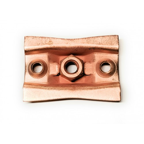 Ceiling Flange - Copper Plated