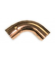 Metric Copper 90 Degree Long Turn Street Elbow ( Fitting x Pipe/Tubing OD )