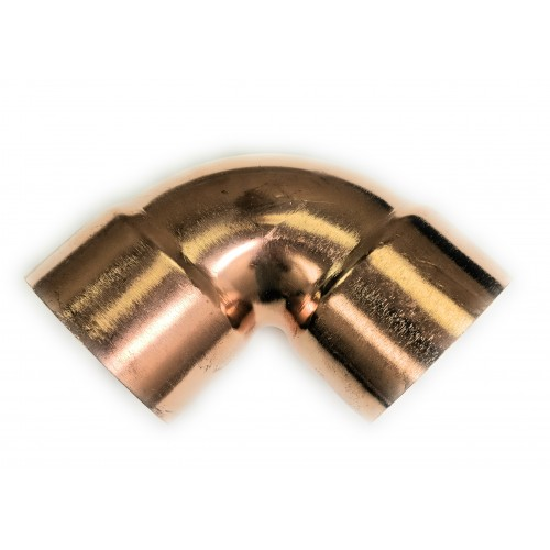 2-1/2  Copper 90 Degree Elbow (2-5/8  X 2-5/8 OD)(Copper x Copper)