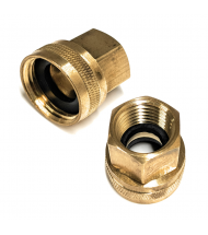 Male or Female Pipe Thread x Garden Hose Adapters