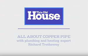 Learn All About Copper Pipe & Fittings