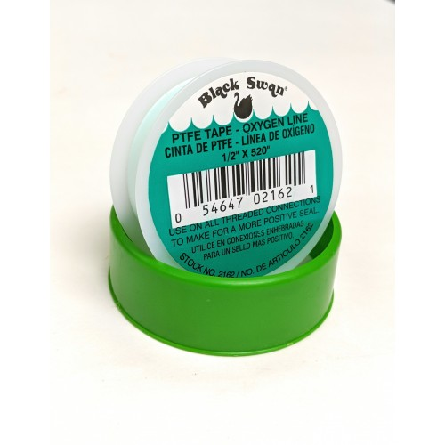 1/2  X 520  GREEN OXYGEN LINE PTFE THREAD SEAL TAPE