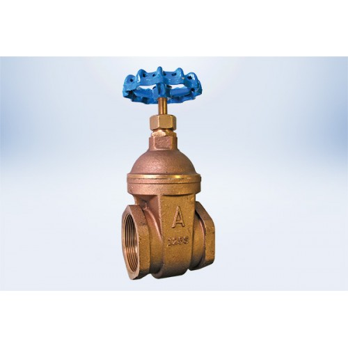 1/4  Gate Valve Lead-free 125 Class w/ FIP Threaded Ends