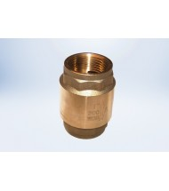 In-Line Spring Check Valve - FIP Ends - Lead Free
