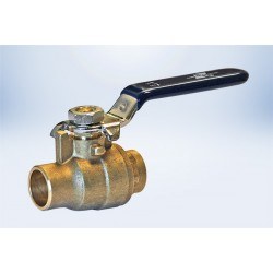 "1-1/4"" Ball Valves Full Port  C x C - Lead Free"