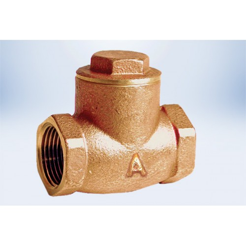 1/2  Check valve - FIP Ends Lead Free